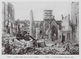 Reims, St James' church, after the war