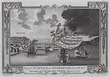 Battle of Bunker Hill and burning of Charlestown, Massachusetts, American Revolutionary War, 17 June 1775