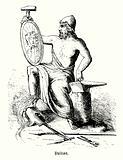Vulcan, Roman god of fire