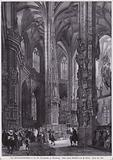 Tabernacle in the choir of the Church of St Lorenz, Nuremberg, Germany