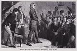 Prussian General Ludwig Yorck addressing the Estates of East Prussia in Konigsberg to appeal for support against …