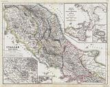 Map of Italy in the time before the Romans