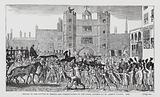 Sequel to the Battle of Temple Bar – Presentation of the Loyal Address at St James's Palace, 1769