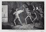 """Wilkes and Liberty"" Riots. The Scotch Victory. Murder of Mr Allen by a Grenadier. Massacre of St George's Fields, 1768."
