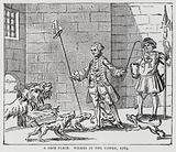 A Safe Place, Wilkes in the Tower, satire on the imprisonment of Radical politician and journalist John Wilkes on …
