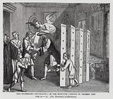 The Prevailing Candidate; or The Election Carried by Bribery and the Devil, satire on the general election of 1722