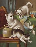 Three Kitten Thieves