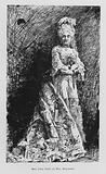 Mrs John Drew as Mrs Malaprop, The Rivals