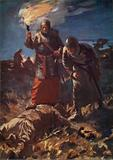Searching for the body of Frederick Barbarossa, Battle of Legnano, Italy, 1176