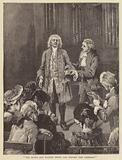 German composer George Friderick Handel in old age