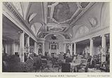 Palladian Lounge on board the Cunard liner RMS Aquitania