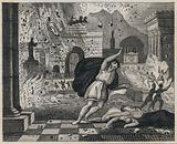 Death of Pliny the Elder in the eruption of Vesuvius, 79