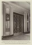Claridge's Hotel, Brook Street, London, W1, The Ballroom Main Entrance Doors