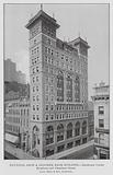 New York: National Shoe and Leather Bank Building, Southwest Corner Broadway and Chambers Street