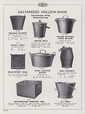 Page from Harco Products catalogue, 1934