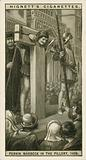 Perkin Warbeck in the Pillory, 1498