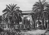 Genova, Nel Giardino del Palazzo Doria; Genoa, Garden of the Palazzo Doria