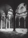 Firenze, Palazzo Medici, Il Cortile; Florence, Palazzo Medici, Court