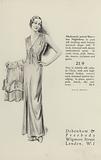 Lingerie and Pyjamas from Debenham and Freebody, 1930s