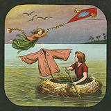 Peter Pan, lantern slide, c 1910