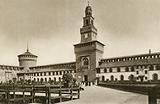 Milano: Il Castello, Cortile