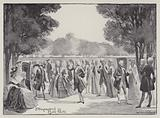 London: Promenaders in Hyde Park