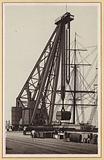 Hamburg: Der Riesen-Krahn, Tragfraft 150 Tonnen