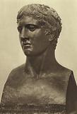 Doryphorus, bust in bronze, Ercolano