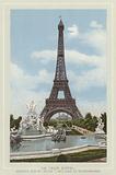 La Tour Eiffel, Hauteur 300M, Poids 7 Millions De Kilogrammes