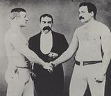 World Heavyweight Championship bare-knuckle boxing match between Jem Smith and Jake Kilrain, 1887