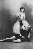 Tamara Karsavina and Vaslav Nijinsky, Russian ballet dancers