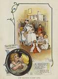 A happy half-hour in Babies' Castle children's home, Hawkhurst, Kent