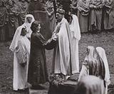 Investiture of Princess Elizabeth as an Honorary Ovate of the Gorsedd of the Bards of Wales, 1946