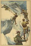 Dramatic mountaineering incident