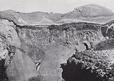 Crater of Mount Fuji, Japan