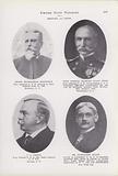Henry Buckingham Mansfield; Rear Admiral Bradley Allen Fiske; JL Catlin; Dr Alexander Duane