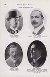 Daniel Frohman; Marcus Loew; Jesse L Lasky; Sam H Harris