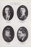 Chauncy Olcott; Robert Bruce Mantell; Louis Mann; Robert Terrel Haines