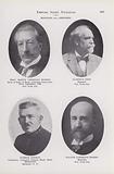 Prof Martin Cornelius Rubner; Clarence Eddy; Patrick Conway; Walter Lawrence Bogert