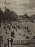 Eton College: The crowd on Agar's Plough on the Fourth of June