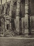 Eton College: The original Fives Court formed by the bay and platform at the bottom of the steps leading to the North …