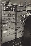 """In the Wireless Cabin, SS """"Homeric"""""""