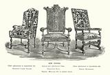 Arm Chairs, William III to Queen Anne