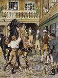 Illustration for The Amateur Gentleman by Jeffery Farnol