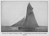 Genesta, the English challenger of 1885