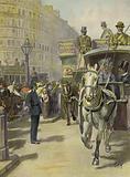 Policeman Regulating Street Traffic