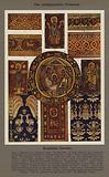 Das spatagyptische Ornament, Koptische Gewebe