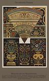 Das italienische Ornament, Marmormosaik und Marmorintarsien