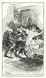 Illustration for Balzac's Contes Drolatiques