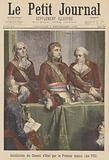 Establishment of the Conseil d'Etat by Napoleon Bonaparte, 1799